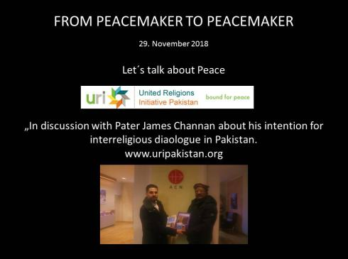 Father James - From Peacemaker to Peacemaker